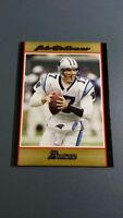 JAKE DELHOMME 2007 BOWMAN FOOTBALL GOLD PARALLEL CARD # 6 B2348