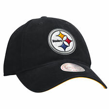 """Pittsburgh Steelers Mitchell & Ness NFL """"Throwback Logo"""" Slouch Adjustable Hat"""