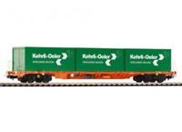 Piko 54685 HO Gauge Expert SBB Sgnss Kehrli & Oeler Container Wagon VI