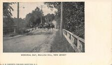 NJ 1900's RARE! Memorial Day Band Mullica Hill, New Jersey - Gloucester County