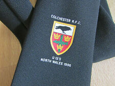 COLCHESTER RFC U15's North Wales 1996 RUGBY Union Tie - SEE PICTURES