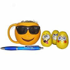 Emoji Sunglasses Mug With Milk Chocolate Eggs & FREE Pen, Best Easter Treat