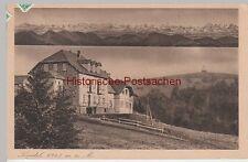 (85288) AK fonte, Panorama Montagna, Hotel U. locanda, 1925
