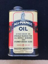 Vintage Bicycles - Raleigh Industries Oil - NOS - Rare Superbe