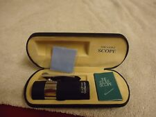 THE GOLF SCOPE 8X21  MM  CASE WITH DIRECTIONS C/CLOTH