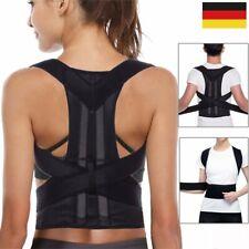 S/M/L/XL Rückenbandage Rückenhalter Haltungskorrektur Gürtel Rücken Stabilisator