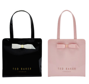 Ted Baker Arycon Small Icon Shopper Bag Selection of Black or Light Pink