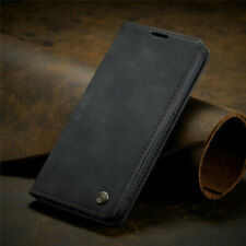Case for iPhone 11 Pro Xr 12 Max Phone Luxury Leather Flip Magnetic Wallet Cover