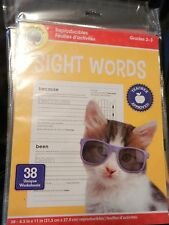Reading Grade 2 3 Sight Words Worksheets Curriculum Teachers Homeschool