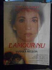 AFFICHE originale grand format ( 120 x 160 ) .L ' AMOUR NU de Y Bellon 1981.