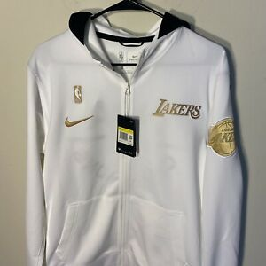 Los Angeles Lakers Nike Therma Flex Warm Up Hoodie Championship Jacket Ring QS