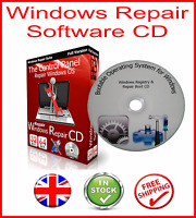 WINDOWS 10 7 8 XP VISTA PRO BOOT CD PC REPAIR RECOVERY DISC HP DELL ACER
