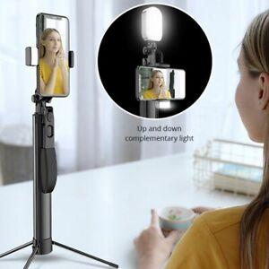 Selfie Stick Tripod Video Stabilizer iPhone Xiaomi Huawei Gimbal Bluetooth Fill