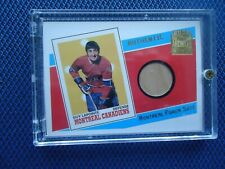 2002 TOPPS ARCHIVES GUY LAPOINTE MONTREAL FORUM SEAT MONTREAL CANADIENS AS-GL RA