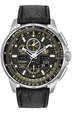 Citizen Men's Limited Edition Leather Skyhawk World Time A-T Watch JY8057-01E