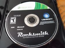 Rocksmith (Microsoft Xbox 360, 2011) DISK ONLY NO CABLE