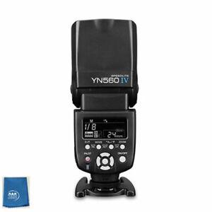 Yongnuo YN560IV Negative Display Manual Speedlite Flash Black YN560 IV NEW Relse
