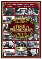 A TIME TO REMEMBER 1900-1980 5 DVD ALL REGIONS 4 PAL NEW