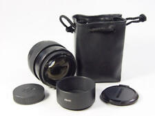 Black Russian portrait 85mm f/2 lens JUPITER-9 Zenit M42 s/n 8308674.