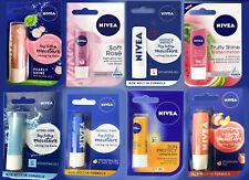 Nivea Long Lasting Moisturising Lip Balm Stick Lip Care 1,2,3,4,5,6 Multi-Packs