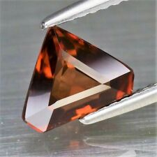 1,77 ct. Zirkon Natural Orange Triangle