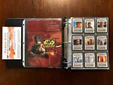 1997 Decipher Star Wars CCG Cloud City Limited Expansion Complete Set NM