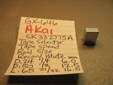 AKAI SK332775A SQ PUSH CAP TAPE SELECT SPEED REEL SIZE MUTE GX-646 REEL TO REEL