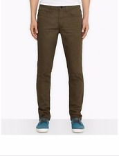 NWT $68 LEVIS 511 LINE 8 SLIM FIT STRETCH JEANS NEW KHAKI 3D RINSE BROWN 29 x 32