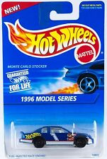 Hot Wheels #440 1996 Model Series Monte Carlo Stocker Black 7SP's New On Card