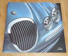 Original Jaguar S-type 2000 les ventes automobiles brochure JLM/10/02/06/00 + liste de prix