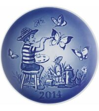 Bing & Grondahl 2014 Children's Day Plate Nib Flying Fantasy 1902914 New In Box