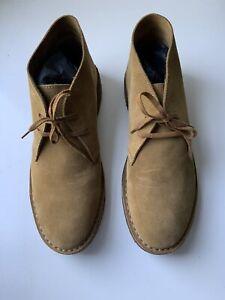 Drake's Desert Boots Whiskey Suede 10 / 44 BNIB £275