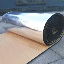 10mm 21.53sqft Car Floor Tailgate Sound Insulation Deadener Mat 79''x40'' US