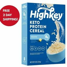 (NEW)HighKey Keto Protein Breakfast Cereal Frosted 8oz