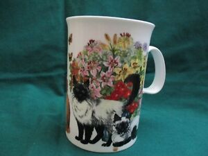 Bone china coffee cup Dunoon; made in England