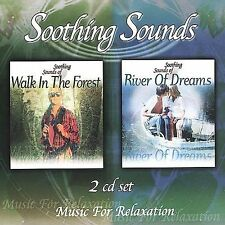Walk in the Forest and River of Dreams by Music for Relaxation (CD, Oct-2002, 2