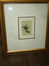 Henri Toulouse Lautrec Lithograph/The Circus Portfolio Lithograph Framed