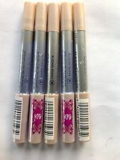 5 X Maybelline Cool Effect Eye Shadow/Liner #28 BLIZZARD BROWN NEW .