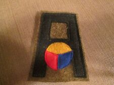 WWI US Army First Army Tank Corps patch AEF wool