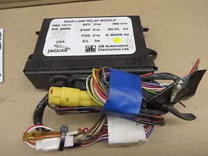 JAGUAR XJ6 XJ 6 93 1993 REAR LAMP CONTROL MODULE OE# DBC10711 #25-J-92