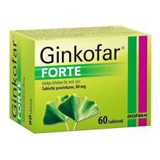 GINKOFAR Forte - 60 tablets - Ginkgo bilobae