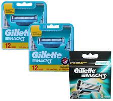 32x Gillette Mach3 Rasierklingen / 8er OVP + 2x 12er = 32 Stück Klingen
