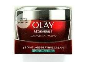 Olay Regenerist 3-Point Age-Defying Cream FRAGRANCE FREE - 50ml
