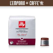 324 Capsule Cialde Caffè illy Iperespresso TOSTATO INTENSO ex Tostatura scura