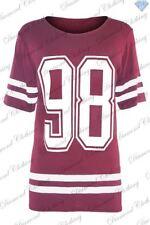T-shirt, maglie e camicie da donna rossi viscosi taglia S