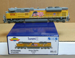 ATHEARN G68896 HO Union Pacific SD70ACe #8736, DCC & Sound