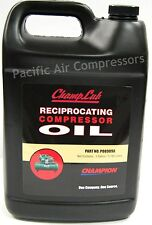 1 Case Of 4 Gallons Champlub Reciprocating Compressor Oil Po8909A