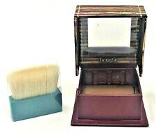 Authentic! Benefit Hoola Face Powder & Brush Deluxe Travel .14 oz New
