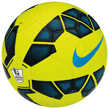 NIKE T90 Total 90 LEAGUE EPL  Soccer Ball  2014 New Volt / Black / Blue Size 3
