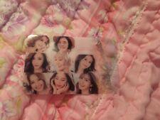 SNSD Group Transparent Photocard Kpop K-pop Girls Generation U.S Seller